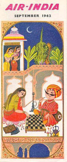 Affiche Indienne