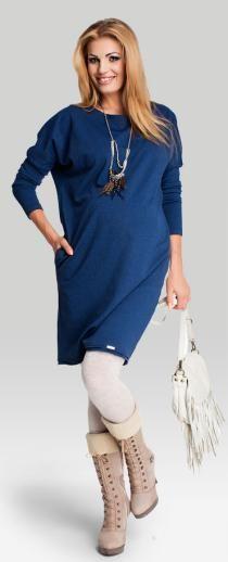 Ingela платье свободного кроя из плотного мягкого трикотажа для беременных