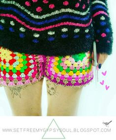 Set Free My Gypsy Soul | a Bohemian Craft and Crochet blog : Granny Square…
