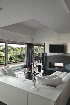 "modernambition: ""Vertical Home Interior in Rome | MDRN"""