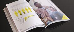 SAAYC Annual report 2013 on Behance