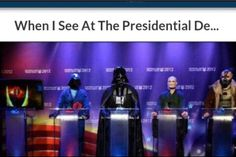 So Darth is trump?