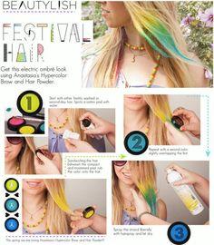 Hair tips and ideas :DIY Color Hair : DIY Color Hair
