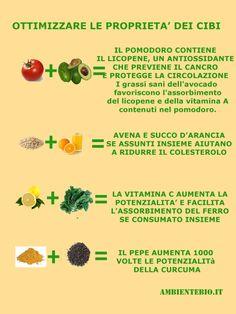 Ottimizzare le proprietà degli alimenti