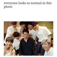 When Jung Joon Young told BTS they were taking a funny faces photo and then switched back to his handsome face. LOL