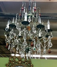 Magnificent Crystal Chandelier Dealer 0108 788 Lucas Street Antiques Mall 2023 Dr Dallas