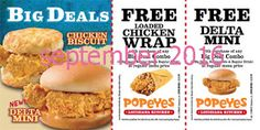 Popeyes Chicken Coupons Ends of Coupon Promo Codes JUNE 2020 ! Is chain the Miami, founded Popeyes headquarters was it In the is their. Kfc Coupons, Shopping Coupons, Online Coupons, Grocery Coupons, Free Printable Coupons, Free Coupons, Free Printables, Golden Corral Coupons, Worlds Best Chicken