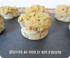 Muffins au thon et son d'avoine