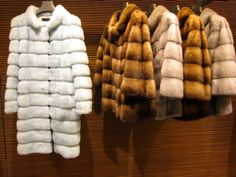 See the white mink fur from the 2013 fendi main collection. Tried on the same coat in a deep indigo color while in vegas. $26,000. It was heaven.
