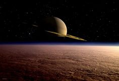 Moving away from Jupiter, our next visitor is Saturn. Saturn is twice the distance from the sun than Jupiter is, so there is a long, cold gap between the two worlds. This isn't surprising as …