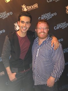 I got to meet Michael Carbonaro last night. Very cool guy and worth the Meet & Greet charge.