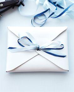 DIY Leather Envelope Clutch - Sweet Paul Presents Lova's World