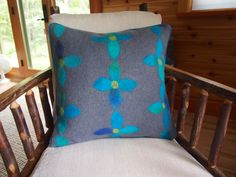 Custom order wet felted fabric made by Leslie Cervenka/Bluebird Woolen Arts