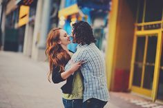 Urban Engagement Session #engagements #redhair #downtown
