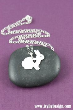 Hey, I found this really awesome Etsy listing at https://www.etsy.com/listing/225706645/sale-bunny-necklace-bunny-jewelry-bunny