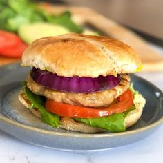 Masala Chicken Burgers Recipe - perfectly spicy, unbelievably easy and ready in 30 minutes! You won't believe the flavor punch these chicken burgers pack! Burger Mix, Burgers, Indian Food Recipes, Healthy Recipes, Ethnic Recipes, Watermelon Salsa, Rice On The Stove, Cooking Basmati Rice, Chicken Masala