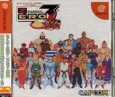 Dreamcast - Street Fighter Zero 3 Saikyo-ryu Dojo