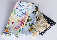Easy cloth napkins sewing tutorial