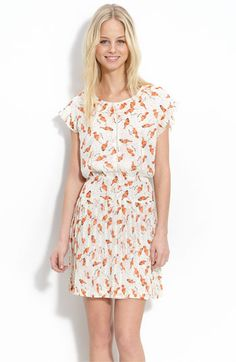 Willow & Clay Short Sleeve Print Dress