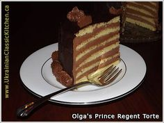 Prinzregententorte - Prince Regent Torte
