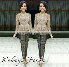 Image result for lace kebaya peplum