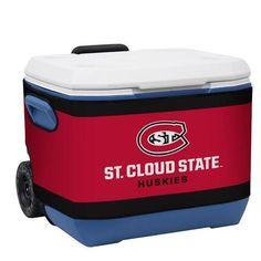 St Cloud State Huskies Ncaa Rappz 50qt Cooler Cover