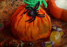segnaposto porta caramelle di halloween