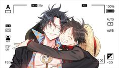Ace and Luffy One Piece Anime, One Piece Fan Art, Watch One Piece, One Piece Comic, One Piece Ship, One Piece World, One Piece Luffy, Manga Anime, Anime Art