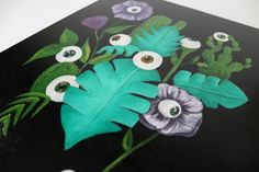 Acrylic painting on canvas 30x40cm ©Billy Acrylic Painting Canvas