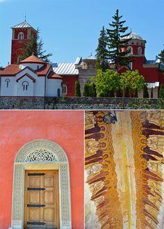 Žiča Monastery, near the town of Kraljevo, Serbia.
