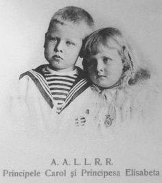 Elisabeth and Carol Romanian Royal Family, Grand Duke, Ferdinand, Prince Charles, My Princess, Descendants, Vintage Images, Edinburgh, Reign