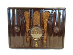 Vintage 1935 Emerson Old Antique Depression Era Nice Bakelite Radio No Cracks | eBay
