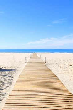 Montpellier in the South of France has beautiful white-sand beaches. Click for more ideas of destinations in the South of France.