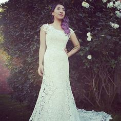 Lace wedding dress #kellykuiperscouture #couture #wedding #bridalgown #lace