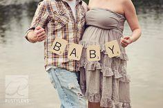 SCRABBLE Baby Banner
