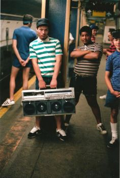 look at that boom-box!!   NYC Subways In The 1980s Were No Joke [47 Photos] | The Roosevelts