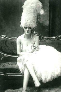 Une pin-up parisienne des années 1920