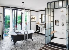 Spanish revival bathroom