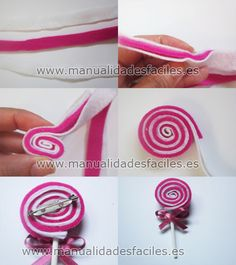 diy broche piruleta de fieltro
