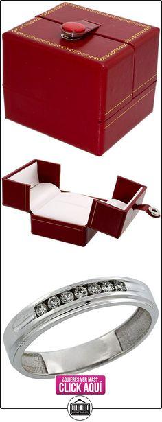 Shoppers Pride - Anillo de oro blanco  ✿ Joyas para hombres especiales - lujo ✿ ▬► Ver oferta: http://comprar.io/goto/B004U61MX4