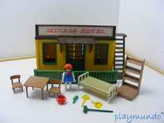 PLAYMOBIL MINERS HOTEL REF. 3426 (AÑO 1976-1984)