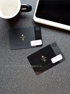 スターバックス カード スターバックス リザーブ® (2種) (Starbucks Card : Starbucks Reserve®, 2 types) http://starbuckstumblers.blogspot.jp/2015/07/2-starbucks-card-starbucks-reserve-2.html