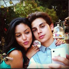 Bianca A. Santos and Jake T. Austin <3 Love them together! <3 Jesus and Lexi <3