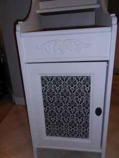this came from a website call IKEA hackers where they take items bought at IKEA and embellish it with DYI crafts