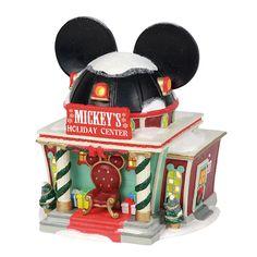 Disney Mickey's Merry Christmas Village Holiday Center 2018 Dept 56 * New 45544976183 Disney Christmas Village, Mickey Mouse Christmas, Christmas Tree Themes, Christmas Villages, Christmas Time, Christmas Crafts, Merry Christmas, Disney Mickey, Department 56