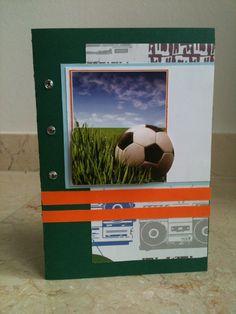 Verjaardagskaartje met voetbal thema! Birthday card with soccer theme! DIY
