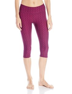 prAna Women's Misty Knicker Capri Athletic Pant -- You can get more details here : Yoga