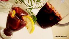 Sangría sin alcohol - Delicias sencillas