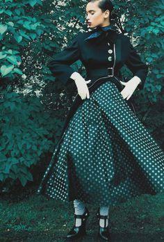 """New Look"", Bianca Gittens photographed by Richard Bernardin in Elle Canada September 2013"