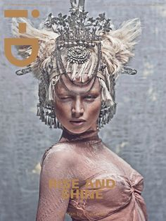 Vivienne Westwood Gold Label on the cover of i-D